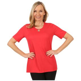 RÖSSLER SELECTION Damen-Shirt 'Sweetheart' rot
