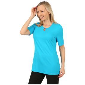 RÖSSLER SELECTION Damen-Shirt 'Sweetheart' türkis
