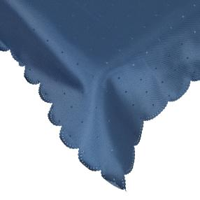Tafeltischdecke blau, 140 x 200 cm