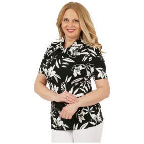RÖSSLER SELECTION Damen-Shirt 'Dear' schwarz/weiß