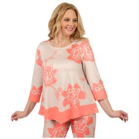 mocca by Jutta Leibfried Shirt, beige, hot coral