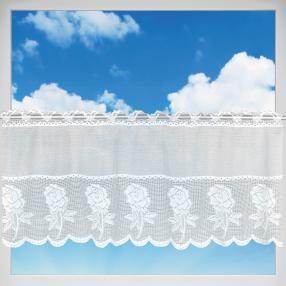 Bistrogardine Rosen, weiss, 160x50 cm