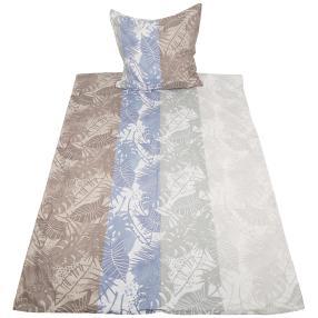 AllSeasons Bettwäsche 155 x 220 cm, Blautöne-grau