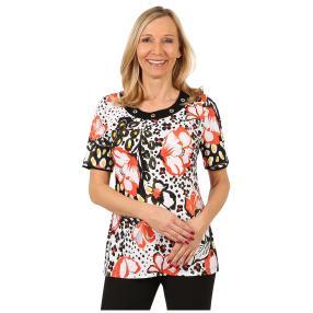 RÖSSLER SELECTION Damen-Shirt 'Happy' multicolor