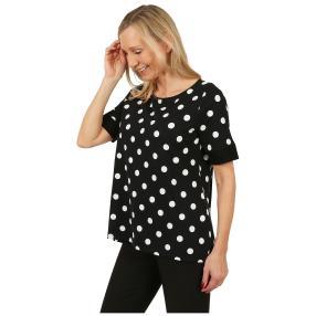 RÖSSLER SELECTION Damen-Shirt 'Chic' schwarz/weiß