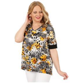 RÖSSLER SELECTION Damen-Shirt 'Savanna' multicolor