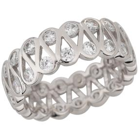 Ring 925 Sterling Silber Eternity