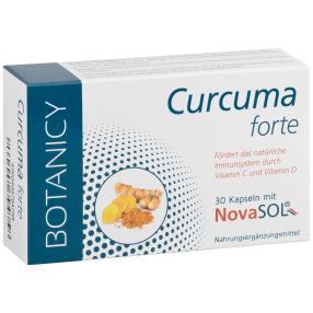 BOTANICY Curcuma forte 30 Kapseln