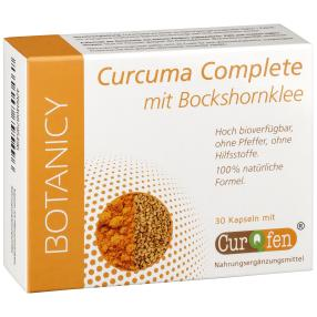 BOTANICY Curcuma Complete, 30 Kapseln