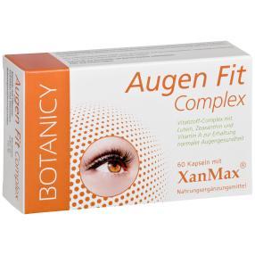 BOTANICY Augen Fit Complex, 60 Kapseln
