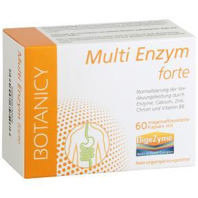 BOTANICY Multi Enzym forte, 60 Kapseln