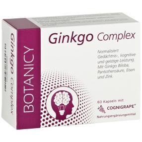 BOTANICY Ginkgo Complex, 60 Kapseln