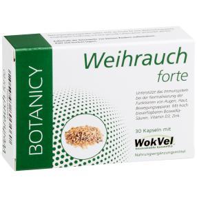 BOTANICY Weihrauch forte, 30 Kapseln