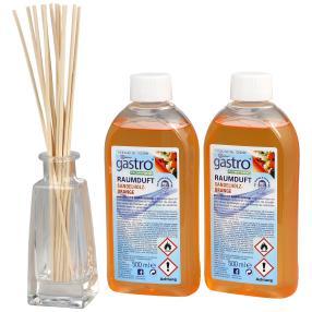 gastro Raumduft 2 x 500 ml Sandelholz-Orange