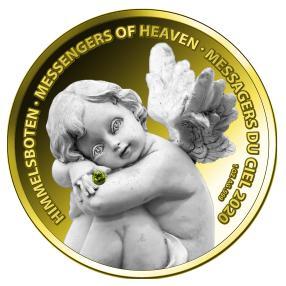 Engel-Silbermünze Pallamant II