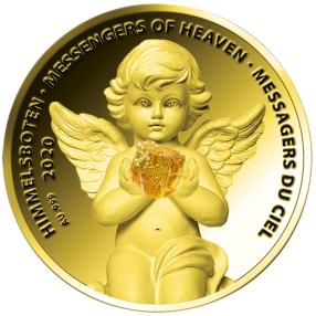 Engel-Goldmünze Pallamant III
