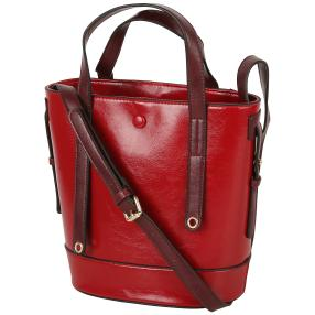 Bags by CG Damen Henkeltasche, bordeaux, weinrot