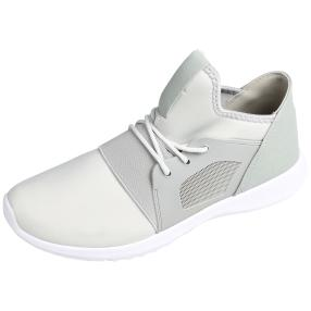 D.T. NEW YORK Damen Sneaker grau