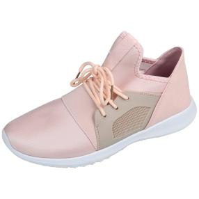 D.T. NEW YORK Damen Sneaker rosa