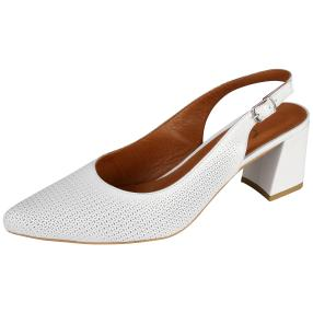 CALVIN SMITH Damen Lederslingpumps