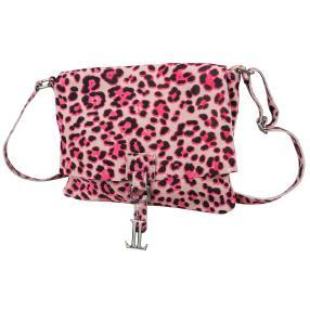 Luca Lorenzo Umhängetasche pink Leopard
