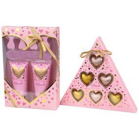 Hearts Bade-, Hand-, und Fußpflege Set
