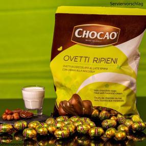 Chocao Milch Eier Haselnuss