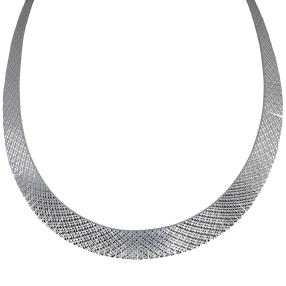 Cleopatracollier 925 Sterling Silber, poliert