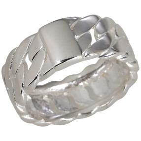 Panzerring 925 Sterling Silber