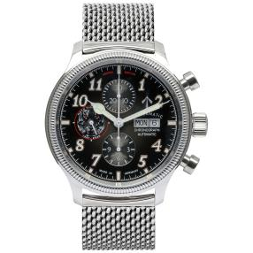 "Strelamatic Herrenuhr ""Tiger Meet"" Chronograph"