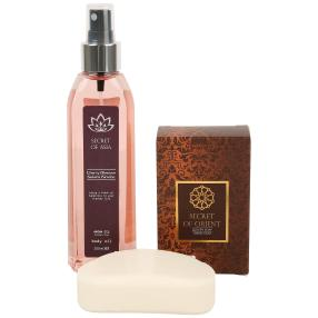 SECRET OF ASIA Body Oil 200ml & Orient Seife 115g