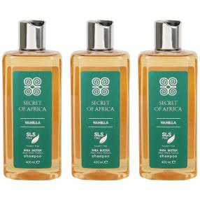 SECRET OF AFRICA Shampoo 3 x 400 ml