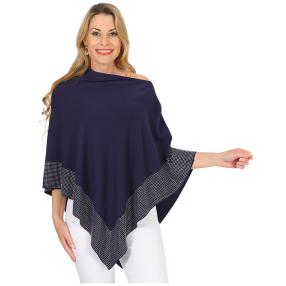 FASHION NEWS Damen-Poncho 'Ella' marine