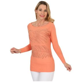 FASHION NEWS Damen-Pullover 'Sue' apricot