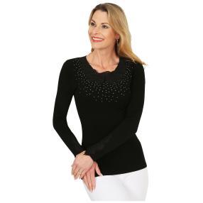 FASHION NEWS Damen-Pullover 'Gina' schwarz