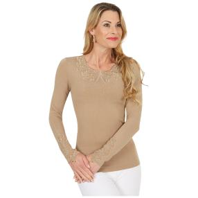 FASHION NEWS Damen-Pullover 'Gina' beige