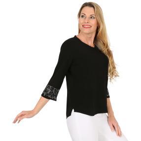 FASHION NEWS Damen-Pullover 'Nina' schwarz