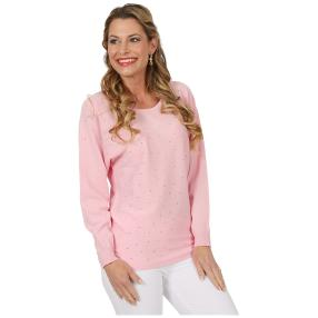 FASHION NEWS Damen-Pullover 'Lilli' rosé