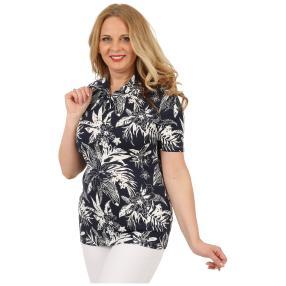 RÖSSLER SELECTION Damen-Shirt 'Marly'  blau/weiß