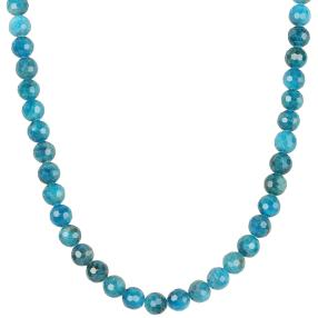 Collier Neon Apatit, 925 Sterling Silber