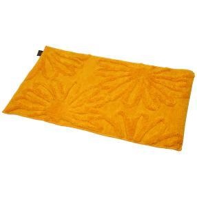 GÖZZE Badteppich Blume gelb 60x100 cm