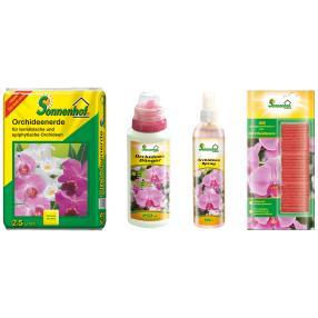 Orchideen Pflege Set II - 4er Kombi Paket