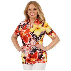 RÖSSLER SELECTION Damen-Shirt 'Madeira' multicolor
