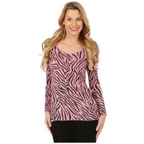 Damen-Pullover rosé/schwarz