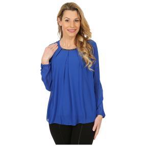 Damen-Blusenshirt royalblau