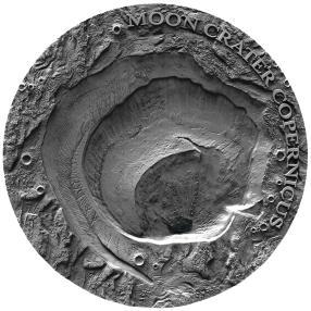 Kopernikus Mond-Meteoritenmünze