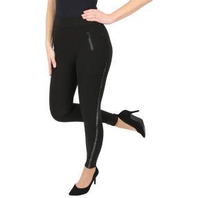 Damen-Hose 'Fine Fit' mit Bambusfaser schwarz