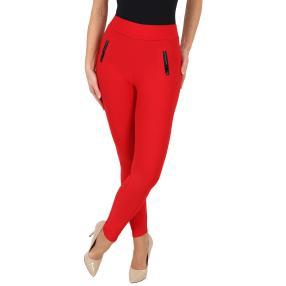 Damen-Hose 'Nice Fit' mit Bambusfaser rot