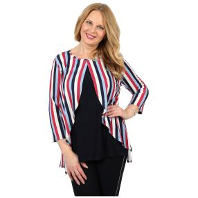 CANDY CURVES 2 in 1 Shirt multicolor, gestreift