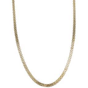 Collier Bismark 585 Gelbgold, ca. 50 cm